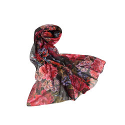 Pleasant Poise Fleur Print Stole from Avon