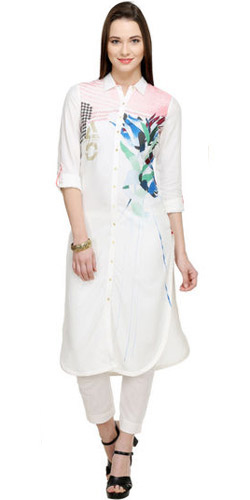 Ethereal White Kurta by W