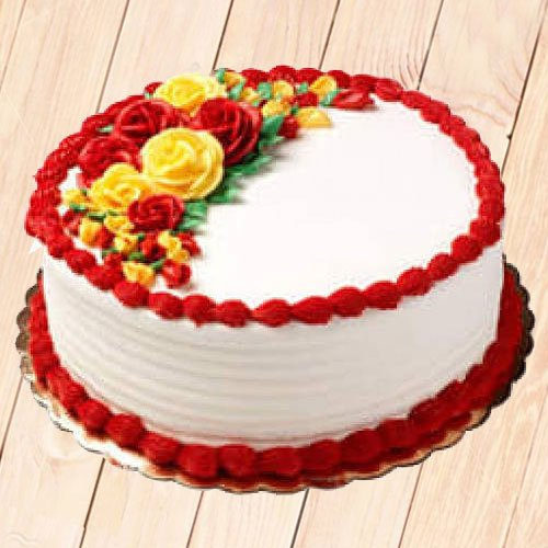 Gifts cakes flowers to nagpur same day delivery in nagpur comforting temptation vanilla cake 12 kg negle Images