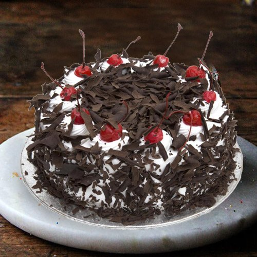 Tasty Black Forest Cake from 3/4 Star Bakery