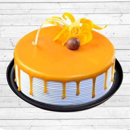 Mouth Watering Eggless Butter Scotch Cake