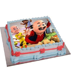 Specially-Design Motu Patlu Cake