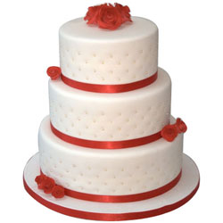 Special 3 Tier Wedding Cake