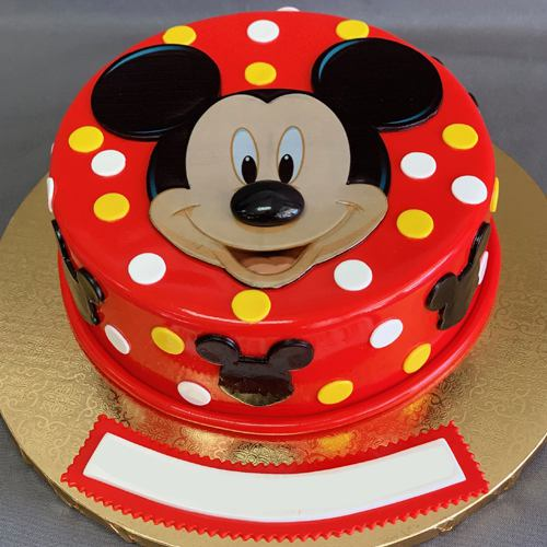 Pleasurable Kids Special Mickey Mouse Cake
