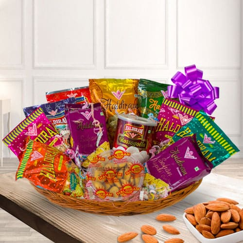 Special Haldirams Assortments Gift Hamper
