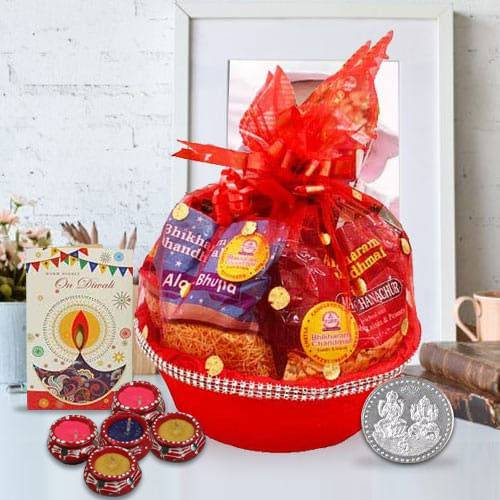 Divine Diwali Treat Gift Basket