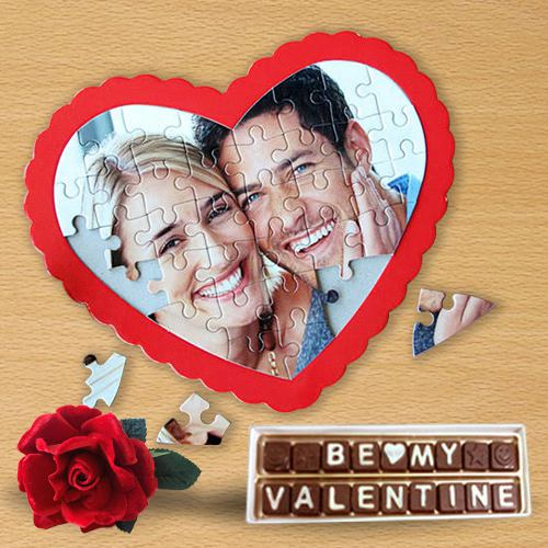 Attractive Personalized Photo Hearty Delight Gift for Valentine
