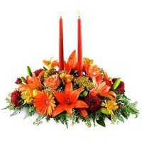Combo of Mixed Florals N Candles