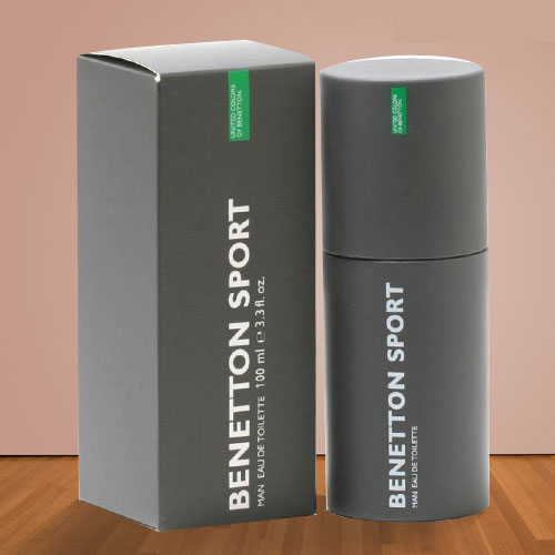 Aromatic Charm Special Benetton Sport Gents Perfume Brand New in Box