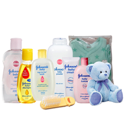Charismatic Johnson Baby Care Gift Collection