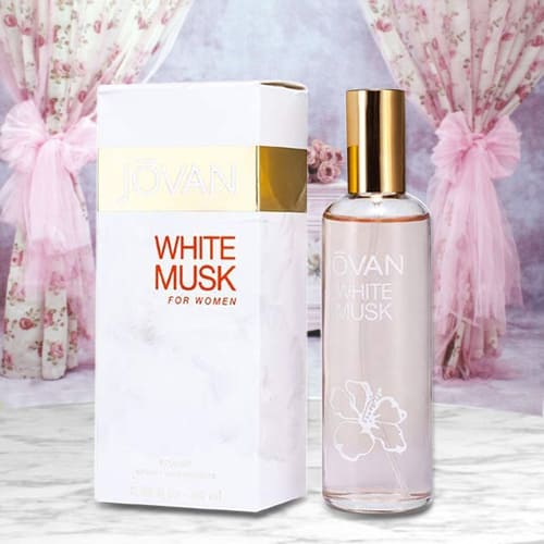 Exciting Jovan White Musk Cologne for Women