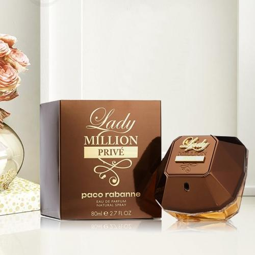 Exquisite Selection of Paco Rabanne Lady Million Prive Eau De Perfume