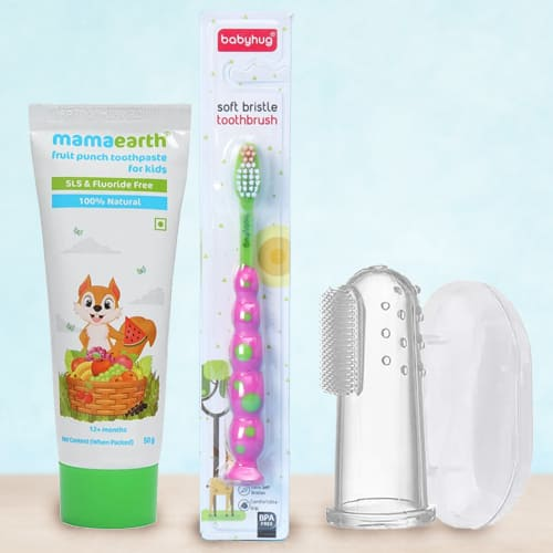 Exquisite Babies Tooth Care Combo from Mamaearth