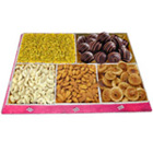 Yummy Well-Being Dry Fruit and Chocolate Combo