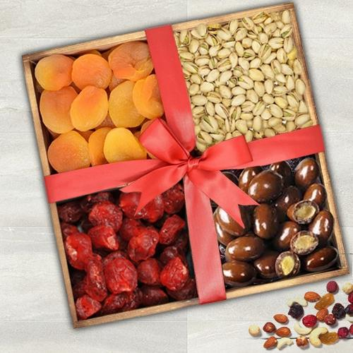 Premium Dry Fruits Gift Tray