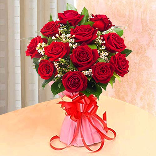 Awesome Red Roses Bouquet