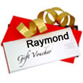 Raymonds Gift Vouchers Worth Rs.3000