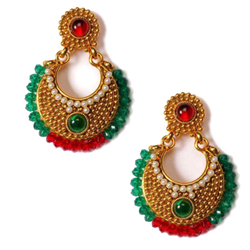 Fancy Earring Set in Ethnic Design
