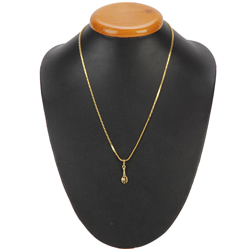 Spectacularly Designed Gold Pendant from Anjali (22K)