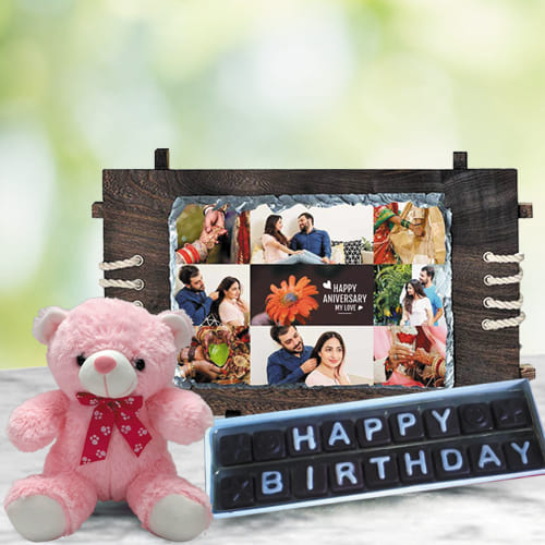 Wonderful Personalized Birthday Presents Gift Combo