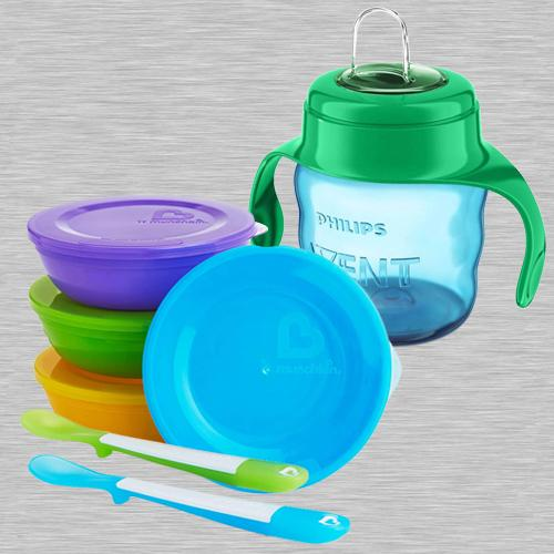 Wonderful Bowls Set N Philips Avent Spout Cup
