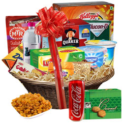 Enigmatic Breakfast Basket of Tasty Assortments
