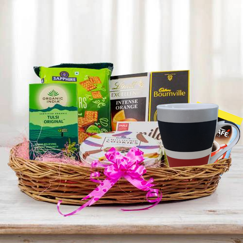 Exclusive Breakfast Basket Hamper