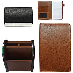 Pen Stand, Passport Holder and Visiting Card Holder