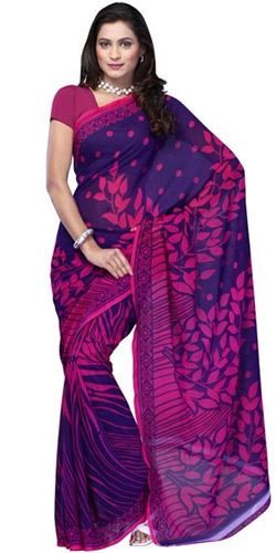 Brightened Grace Georgette Saree