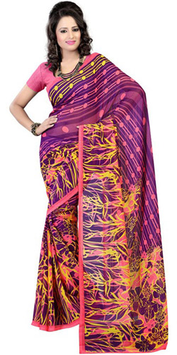 Exciting Attraction Georgette Saree