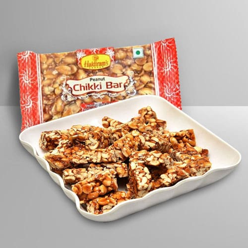 Delicious Dry Fruits Chikki from Haldirams