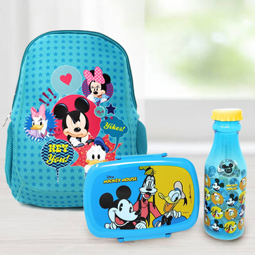 Amusing Back To School Mickey Mouse Gift Combo