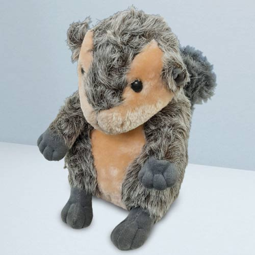 Delightful Squirrel Soft Toy