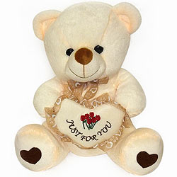 Vivacious Looking Bear With Heart