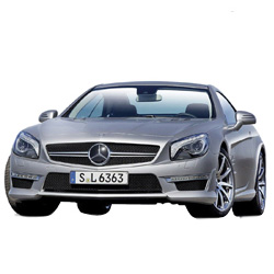 Kingly Fondness RC ~ Mercedes-Benz SL AMG 63 Model Car from Maisto