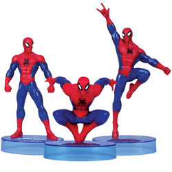 Celebrate the Spidey Magic Spiderman Figurine Collection