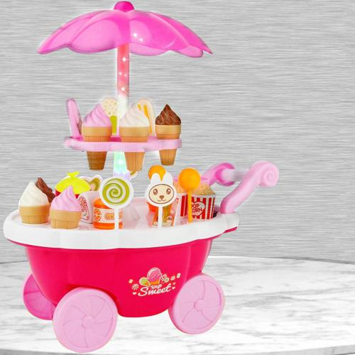 Marvelous Ice Cream Trolley Play Set