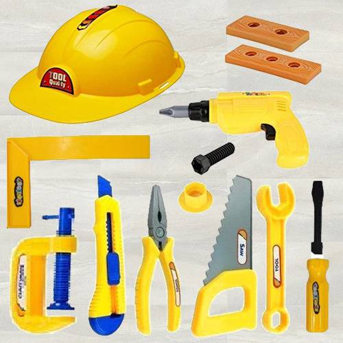 Exclusive Mechanics Tools Kit Toys for Kids