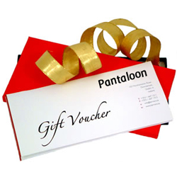 Pantaloons Gift Vouchers Worth Rs. 3500