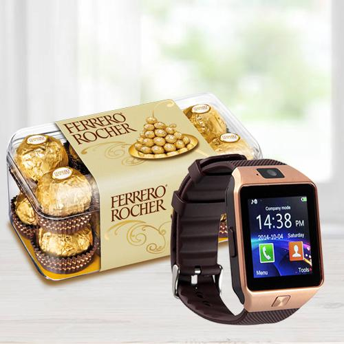 Marvelous Smart Watch N Ferrero Rocher