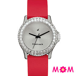 Amazing Fastrack Ladies Wrist Watch with Round Dial