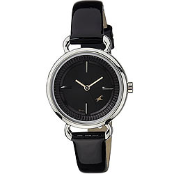 Admirable Fastrack Ladies Watch in Black Dial